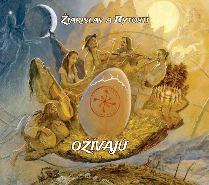 """Titulka CD """"Ožívajú"""""""